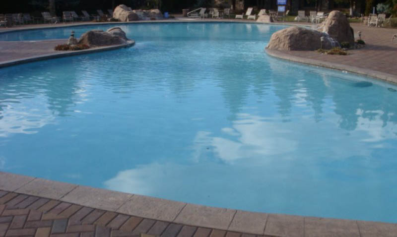 Color Surfaces Generation Pool Plastering